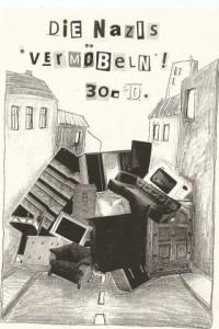 """Flyer zur """"Vermoebeln""""-Aktion"""