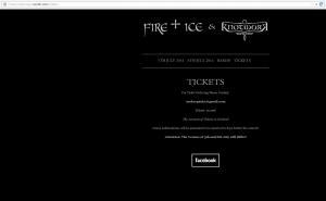 Bewerbung der Konzerte über fracturedeurope.tumblr.com/tickets